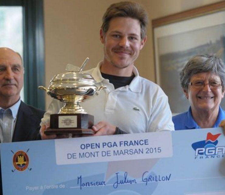 Open PGA, De Mont-De-Marsan, Julien Grillon renoue avec la victoire.