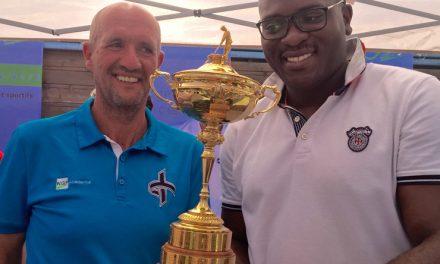 Le Trophée de la Ryder Cup à Margaux…