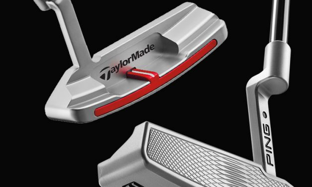 TROIS PUTTERS   … IN THE HOLE!