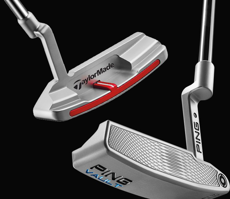 TROIS PUTTERS   … IN THE HOLE !
