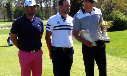 Victoire de Victor Perez à l'Open PGA France de Mont de Marsan.