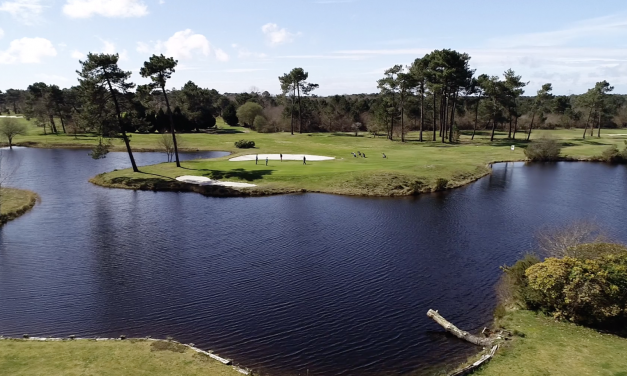 Le golf Blue-Green de Gujan-Mestras a trente ans.