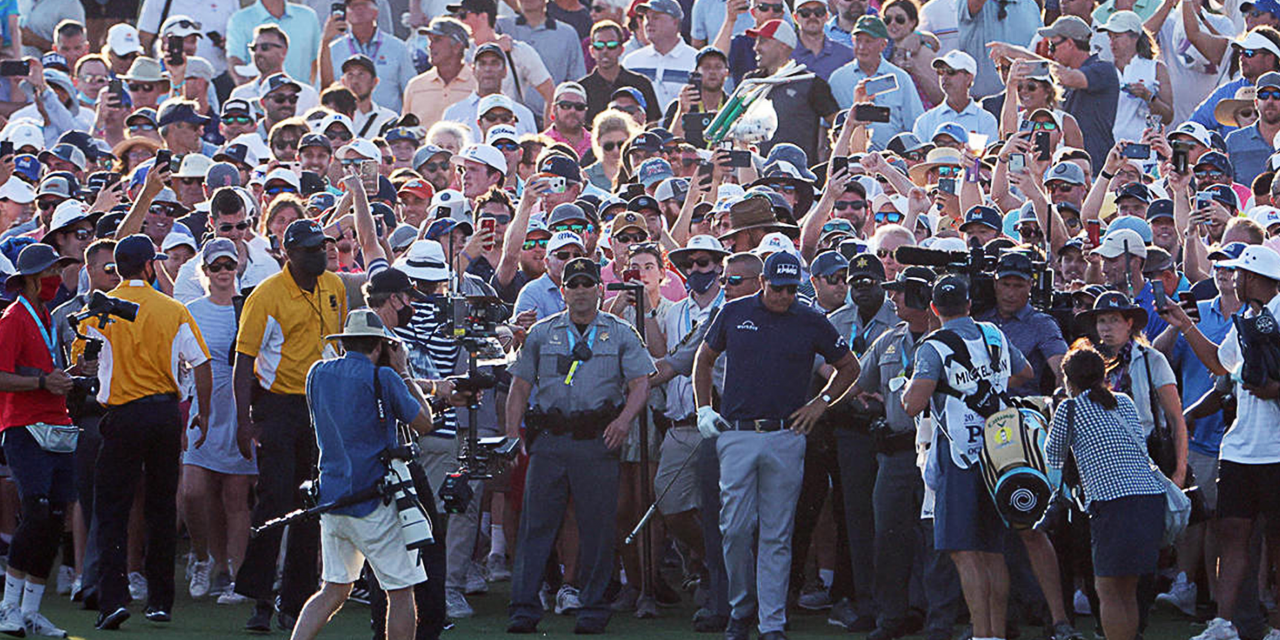 US PGA Phil Mickelson, l'histoire en marche