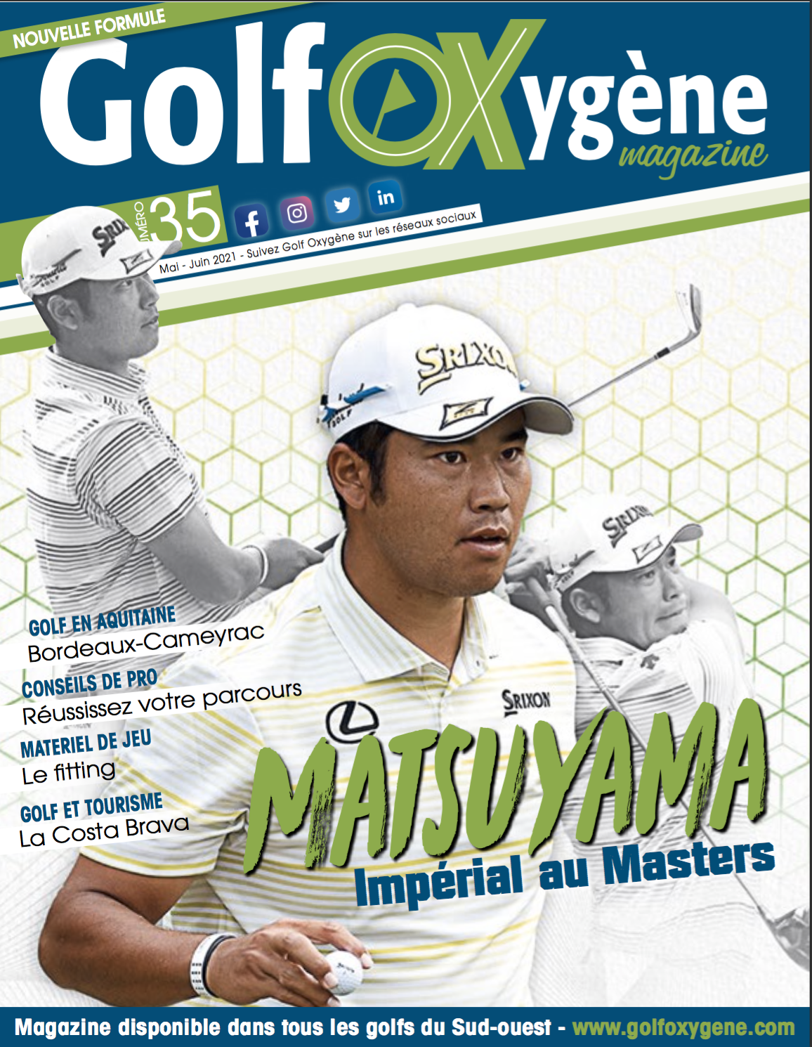 Magazine Golf Oxygène